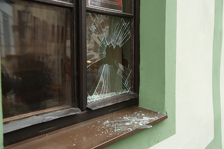 A2B Glass are able to board up broken windows while they are being repaired in Waterlooville.